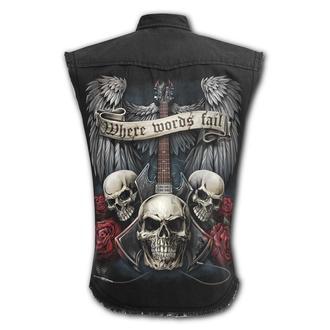 košile pánská bez rukávů SPIRAL - UNSPOKEN, SPIRAL
