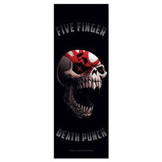vlajka Five Finger Death Punch - Speech Skull, HEART ROCK, Five Finger Death Punch