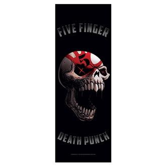 vlajka Five Finger Death Punch - Speech Skull, HEART ROCK, Five Finger Death Punch
