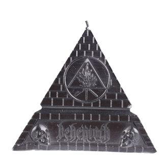 svíčka BEHEMOTH - UNHOLY TRINITY PYRAMID - BLACK - PLASTIC HEAD, PLASTIC HEAD, Behemoth