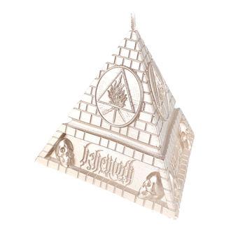 svíčka BEHEMOTH - UNHOLY TRINITY PYRAMID - BRASS - PLASTIC HEAD, PLASTIC HEAD, Behemoth