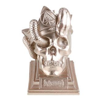 svíčka BEHEMOTH - UNHOLY TRINITY SKULL - BRASS - PLASTIC HEAD, PLASTIC HEAD, Behemoth