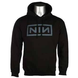 mikina pánská NINE INCH NAILS - CLASSIC GREY LOGO - PLASTIC HEAD, PLASTIC HEAD, Nine Inch Nails