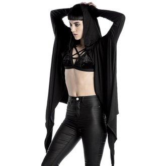 mikina dámská (cardigan) KILLSTAR - Raider Cloak - BLACK - K-JKT-U-1271