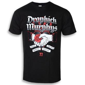 tričko pánské Dropkick Murphys - Handshake - Black - KINGS ROAD - 20116475