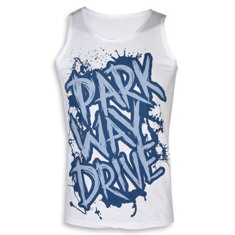 tílko pánské Parkway Drive - Blue Logo - White - KINGS ROAD, KINGS ROAD, Parkway Drive