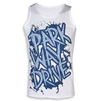 tílko pánské Parkway Drive - Blue Logo - White - KINGS ROAD
