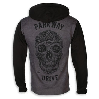 mikina pánská Parkway Drive - Skull - Charcoal Grey - KINGS ROAD, KINGS ROAD, Parkway Drive
