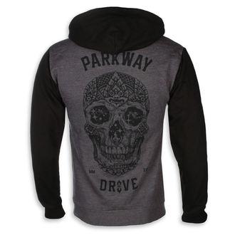 mikina pánská Parkway Drive - Skull - Charcoal Grey - KINGS ROAD, KINGS ROAD, Parkway Drive