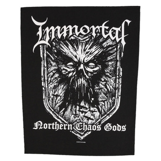 nášivka velká Immortal - Northern Chaos Gods - RAZAMATAZ, RAZAMATAZ, Immortal