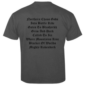 tričko pánské IMMORTAL - Chaos GREY - NUCLEAR BLAST, NUCLEAR BLAST, Immortal