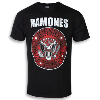 tričko pánské Ramones - Red Fill Seal - ROCK OFF, ROCK OFF, Ramones