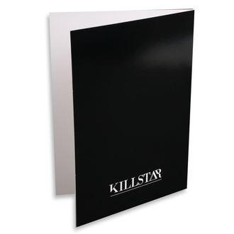 přání KILLSTAR - Aquarius - BLACK, KILLSTAR