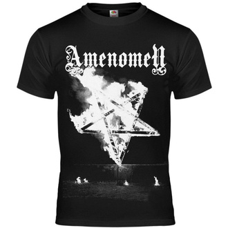 tričko pánské AMENOMEN - PENTAGRAM BURN - OMEN067KM