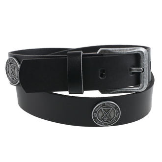 pásek Luciferi - Black, JM LEATHER
