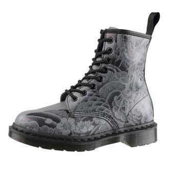 boty Dr. Martens - 8 dírkové - 1460 Ot Tattoo - Black/Gunmetal