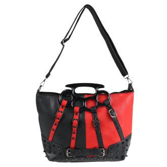 kabelka (taška) POIZEN INDUSTRIES - HARLEY - BLACK/RED, POIZEN INDUSTRIES