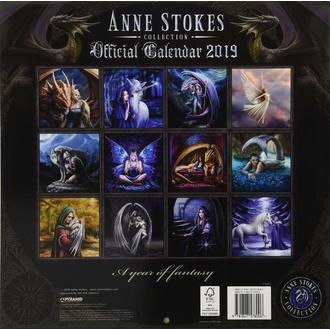 kalendář na rok 2019 ANNE STOKES, ANNE STOKES
