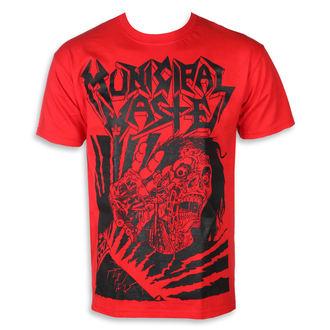 tričko pánské Municipal Waste -  Skelbot red, Municipal Waste