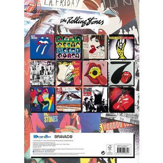 kalendář na rok 2019 - ROLLING STONES, Rolling Stones