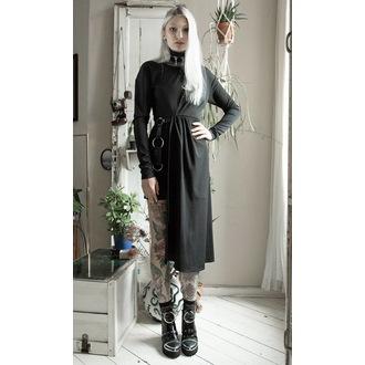 šaty dámské DISTURBIA - Asymmetric Drape, DISTURBIA