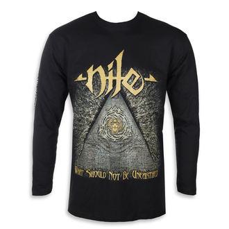 tričko pánské s dlouhým rukávem Nile - What Should Not Be Unearthed - Gold - RAZAMATAZ, RAZAMATAZ, Nile