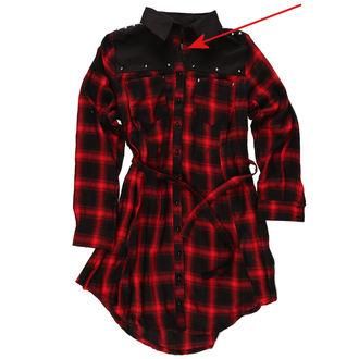 šaty dámské HEARTLESS - EMILY - RED - POŠKOZENÉ, HEARTLESS