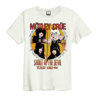 tričko pánské Mötley Crüe - SHOUT AT THE DEVIL - VINTAGE WHITE - AMPLIFIED - ZAV210D06