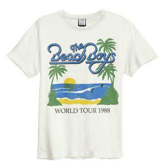 tričko pánské THE BEACH BOYS - 1988 TOUR - VINTAGE WHITE - AMPLIFIED, AMPLIFIED, Beach Boys