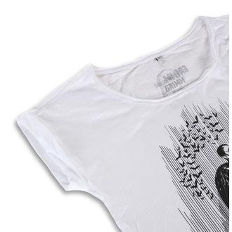 tričko dámské GRIMM DESIGNS - DRACULA WHITE