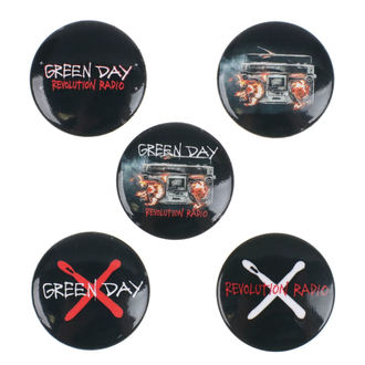 placky Green Day - Revolution Radio - RAZAMATAZ, RAZAMATAZ, Green Day