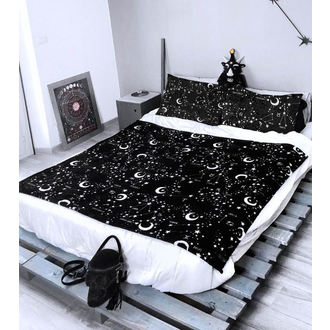 set (přikrývka + polštáře) KILLSTAR - Starmap - BLACK, KILLSTAR
