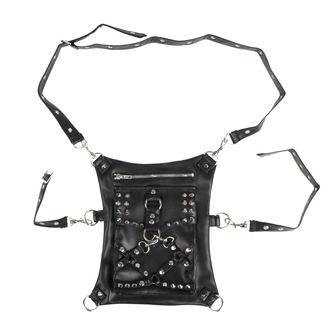 taška (ledvinka) VIXXSIN - SPIKE - BLACK, VIXXSIN