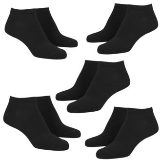 ponožky (set 5 párů) URBAN CLASSICS - No Show - TB1470_black