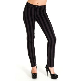 kalhoty (unisex) 3RDAND56th - Stripe Skinny - Blk/Grey, 3RDAND56th