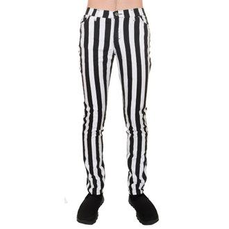 kalhoty (unisex) 3RDAND56th - Stripe Skinny - Blk/WHT, 3RDAND56th