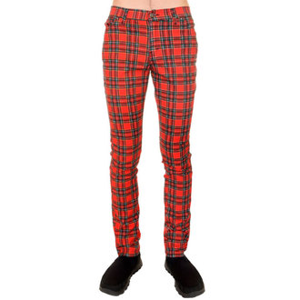 kalhoty (unisex) 3RDAND56th - Tartan Skinny Jeans - Ud Tartan, 3RDAND56th