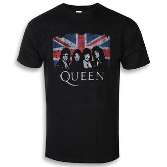 tričko pánské Queen - Union Jack - ROCK OFF, ROCK OFF, Queen