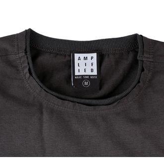 tričko pánské LED ZEPPELIN - ICARUS - CHARCOAL - AMPLIFIED - ZAV210A07