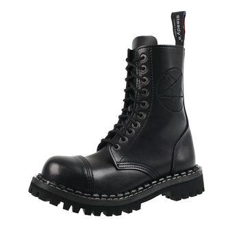 boty STEADY´S - 10 dírkové - Pentagram black, STEADY´S