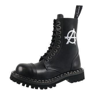 boty STEADY´S - 10 dírkové - Anarchy white - STE/10/H_Anarchy white