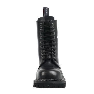 boty STEADY´S - 10 dírkové - Anarchy white, STEADY´S