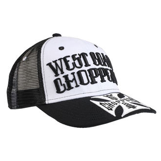 kšiltovka WEST COAST CHOPPERS - CLUTCH LOGO ROUND BILL - Black, West Coast Choppers
