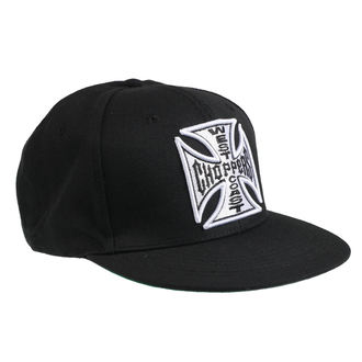 kšiltovka WEST COAST CHOPPERS - CROSS FLATBILL - BLACK, West Coast Choppers