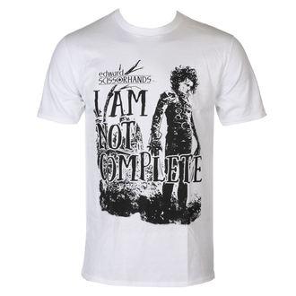 tričko pánské Střihoruký Edward - I Am Not Complete - White - HYBRIS, HYBRIS, Střihoruký Edward