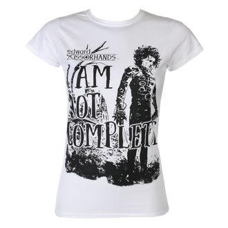 tričko dámské Střihoruký Edward - I Am Not Complete - White - HYBRIS, HYBRIS, Střihoruký Edward