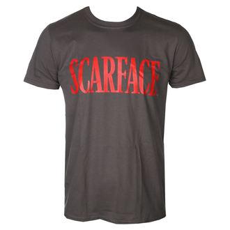 tričko pánské Scarface - Logo - D.Grey - HYBRIS, HYBRIS, Scarface