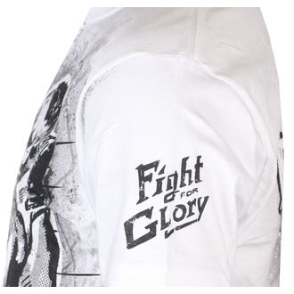tričko pánské ALISTAR - Fight for Glory - White, ALISTAR