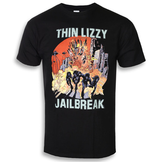 tričko pánské Thin Lizzy - Jailbreak Explosion - LOW FREQUENCY, LOW FREQUENCY, Thin Lizzy