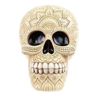 dekorace (pokladnička) Ornament Skull, NNM